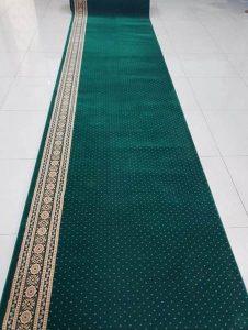 Karpet Masjid Hereke Hijau