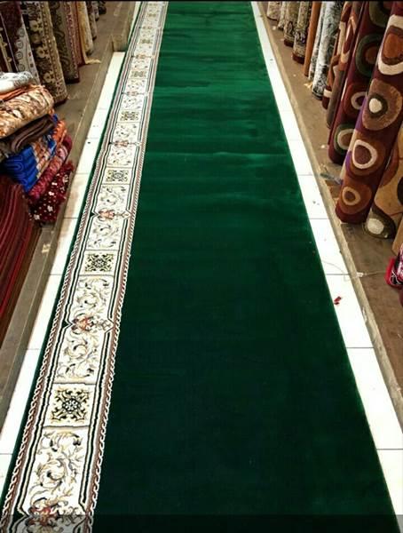 Karpet Masjid Masterpice hijau