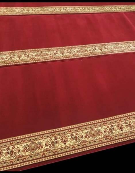 Karpet Masjid Royal Authentic Merah Polos