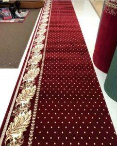 karpet masjid Hagia Sofia merah bintik