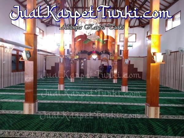 karpet masjid kandahar hereke di masjid malang - jualkarpetturki.com