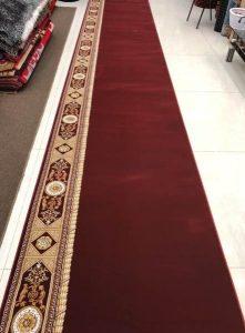 karpet masjid super mosque merah