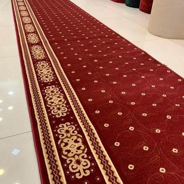 karpet masjid tajmahal merah