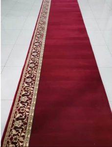 karpet masjid turki millenium merah