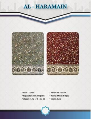 Katalog Karpet Masjid Al Haramain