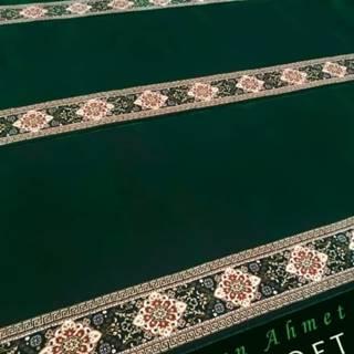 Karpet Masjid Sultan Ahmet Soft Hijau Polos