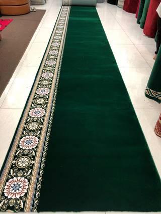 karpet masjid royal tebriz hijau new motif