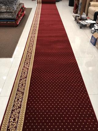 karpet masjid royal tebriz merah bintik