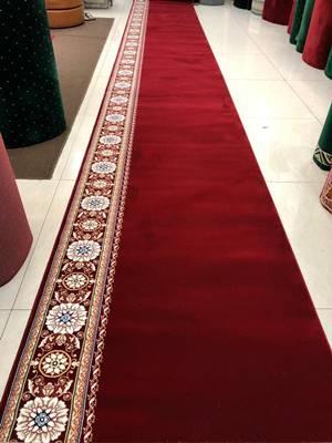 karpet masjid royal tebriz merah new motif