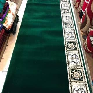 karpet masjid super tebriz hijau