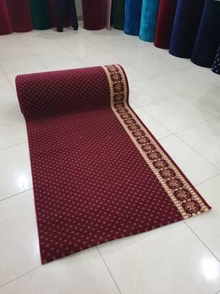 karpet masjid turki millenium merah bintik